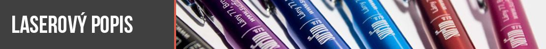 laserový popis propisek - gravír