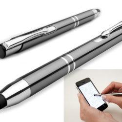 kovová propiska s funkcí touch pen
