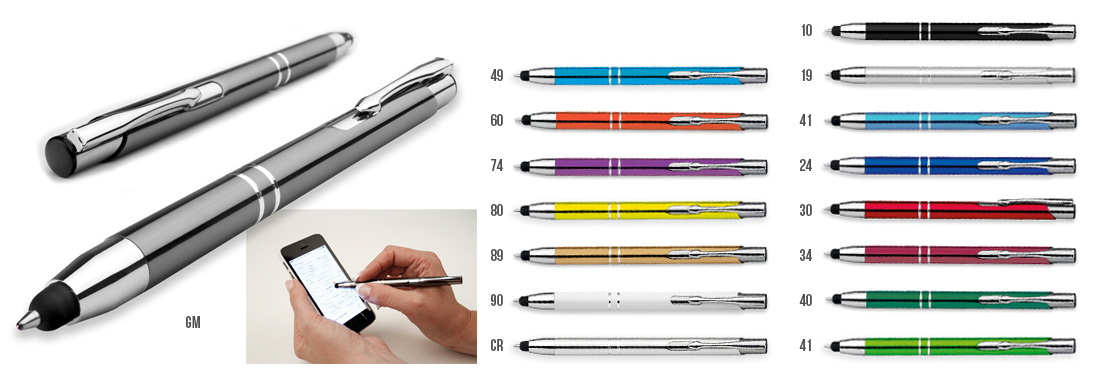 kovové kuličkové pero OLEG TOUCH