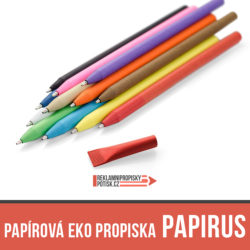 Papírová eko propiska PAPIRUS